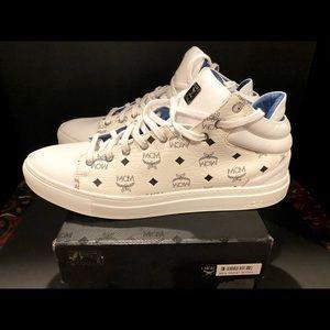 MCM mens sneakers, worn twice! Authentic Sz 44